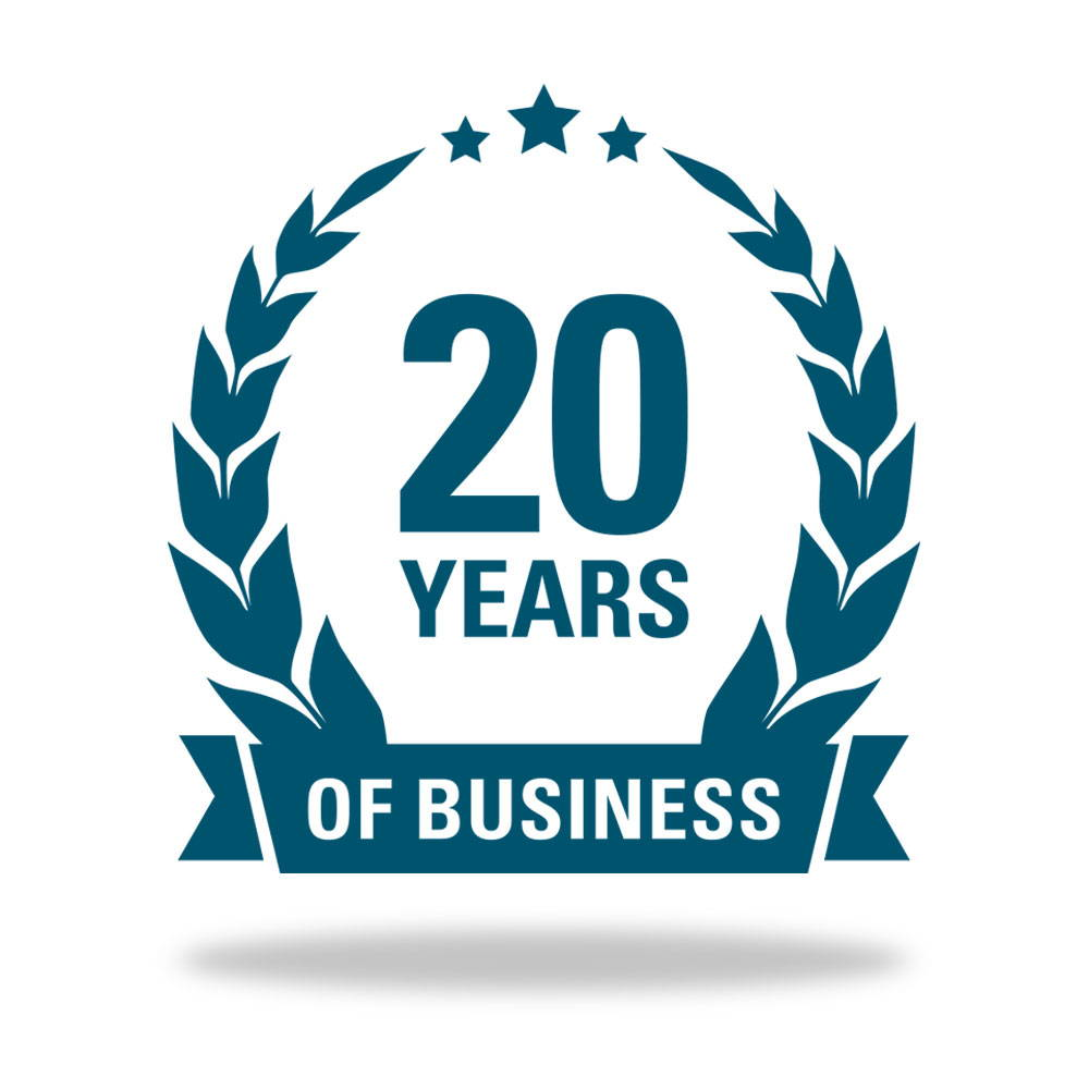20 Years Of Business